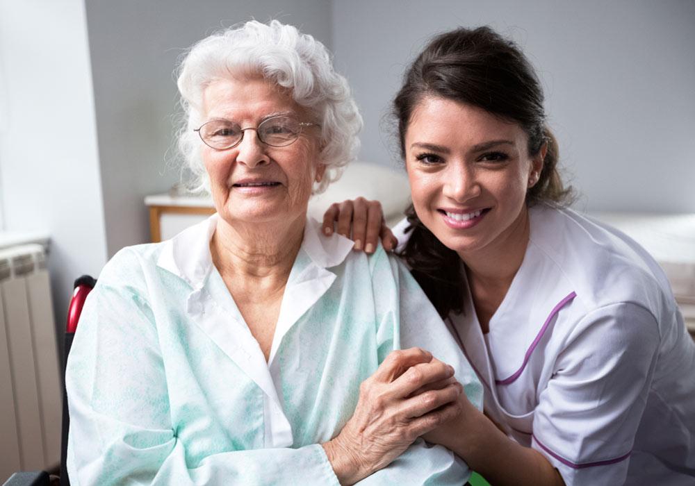 Marion, aide soignante