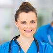 Portrait de Céline, infirmière